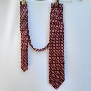 ALTEA 100% Geometric Print Tie